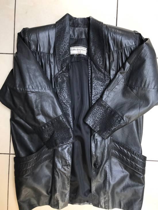 Balmain Balmain Women's Leather Jacket Vintage Size US XS / EU 42 / 0
