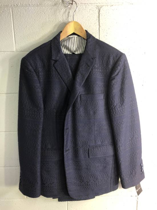 Thom Browne Bespoke Embroidered Suit Size 42L