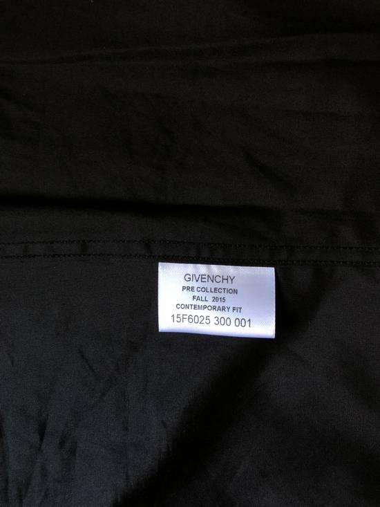 Givenchy Givenchy Black/Digital Camo Collar Shirt Size US M / EU 48-50 / 2 - 2