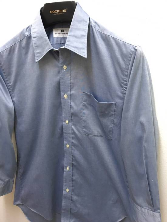 Balmain Pierre Balmain Paris Plain Button up Shirt Made in Japan Size US M / EU 48-50 / 2 - 1