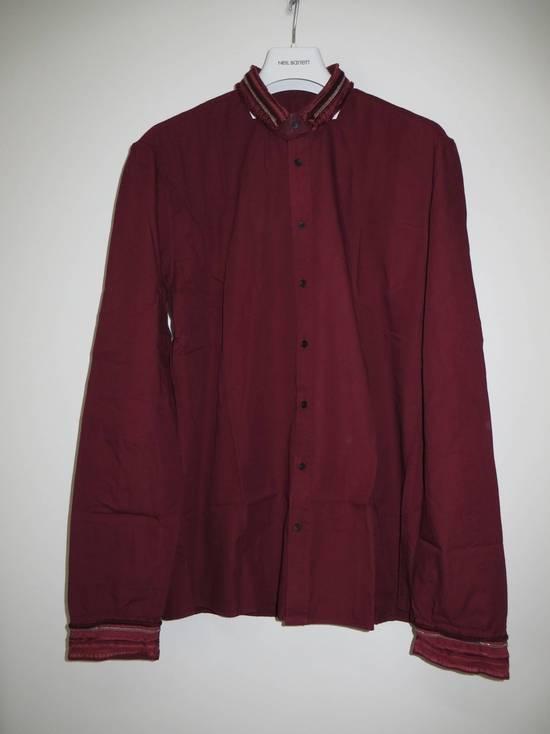 Balmain Embroidered plastron shirt Size US L / EU 52-54 / 3 - 10