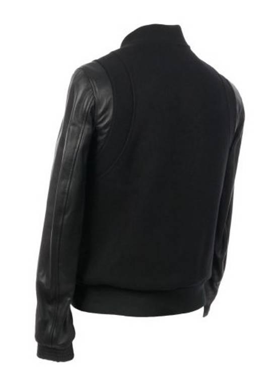 Balmain Balmain Varsity Teddy Bomber Jacket Leather Wool Black Size 52 Decarnin FW10 Large Baseball Size US L / EU 52-54 / 3 - 3