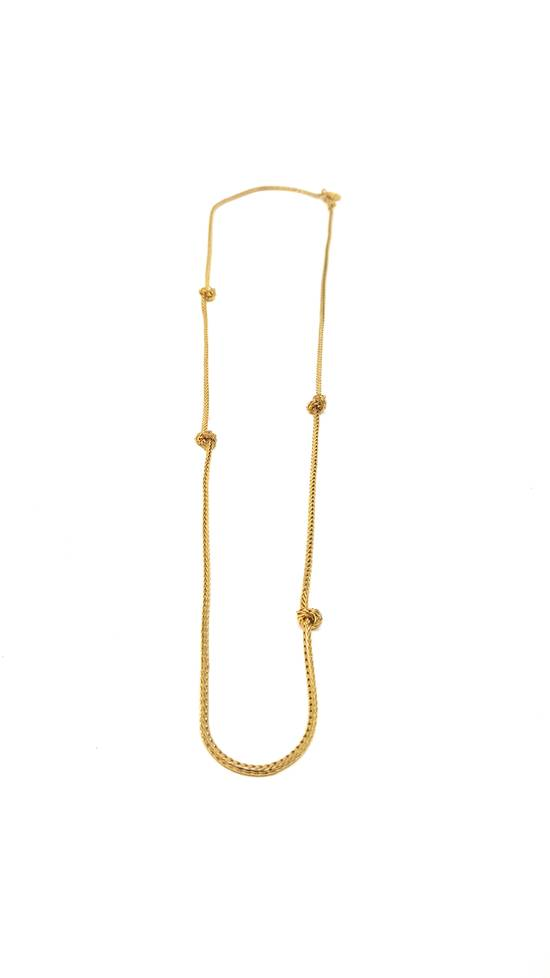Givenchy Barbed wire gold plated necklace Size ONE SIZE - 8