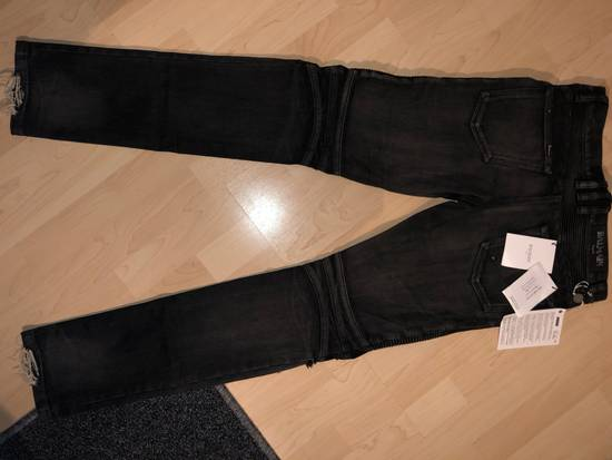 Balmain Destroyed Stretch Biker Jeans Size US 28 / EU 44 - 4