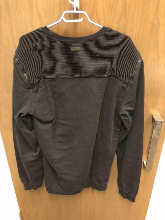Balmain Black Oversized Balmain Biker Sweatshirt Size US L / EU 52-54 / 3 - 3
