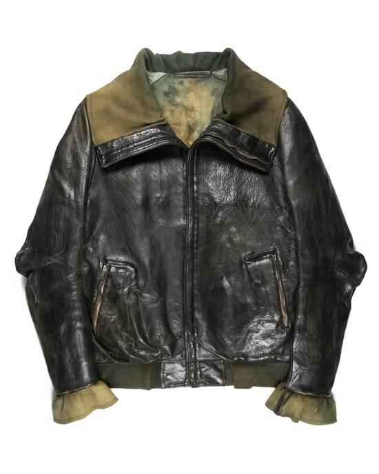 Carol Christian Poell Bison Leather High Neck Size US L / EU 52-54 / 3