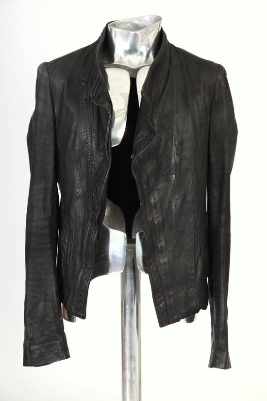 Julius Julius Dove Tail Leather Jacket EU46 Small Size 2 S/S 2012 Size US S / EU 44-46 / 1