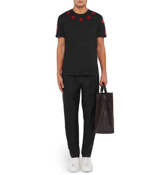 Givenchy Black and Red 5 Stars T-shirt Size US XL / EU 56 / 4 - 2