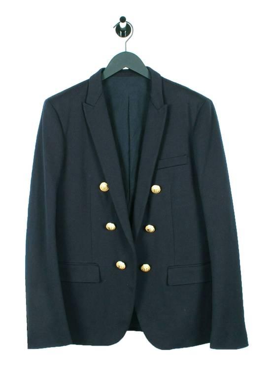 Balmain Original Balmain Dark Blue Men Blazer Jacket in size 54 Size 44R