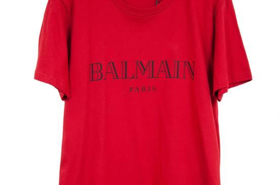 Balmain Red Logo Shirt Size US M / EU 48-50 / 2 - 1
