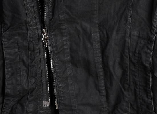 Julius high neck asymmetric zip waxed denim jacket Size US S / EU 44-46 / 1 - 7