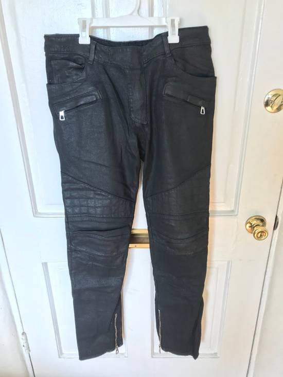 Balmain Biker Denim Size US 33