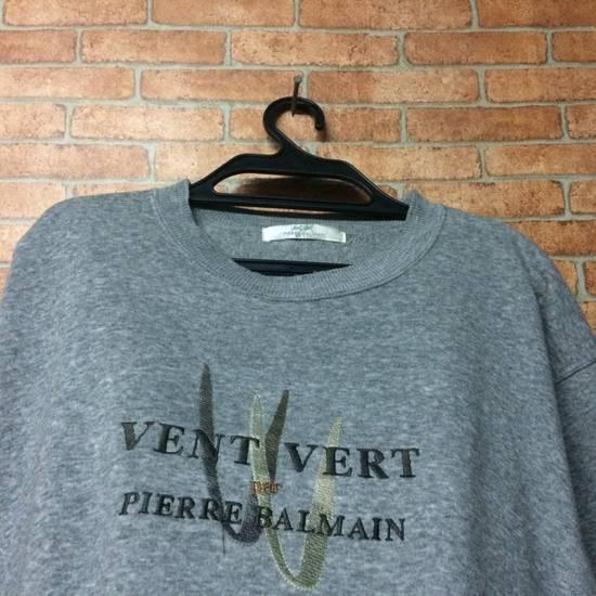 Balmain Vintage PIERRE BALMAIN PARIS embroidery Crewneck Size US M / EU 48-50 / 2 - 2