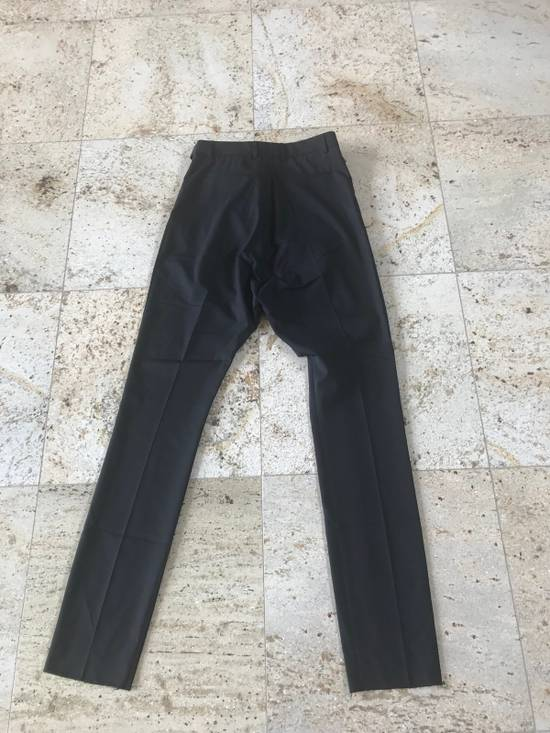 Givenchy Belted & Pleated Casual Suit Pants In Black Size US 28 / EU 44 - 9