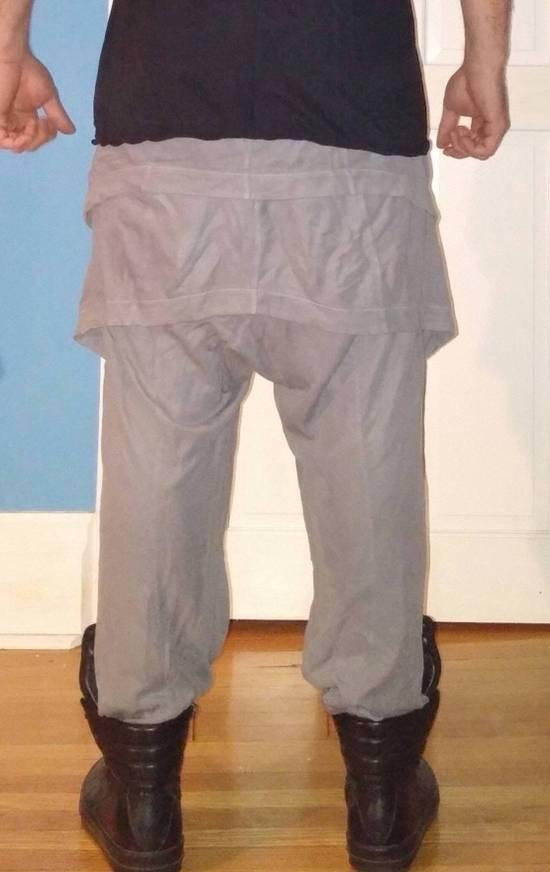 Julius Japan made silk and cotton layered skirted sweatpants Size US 29 - 13