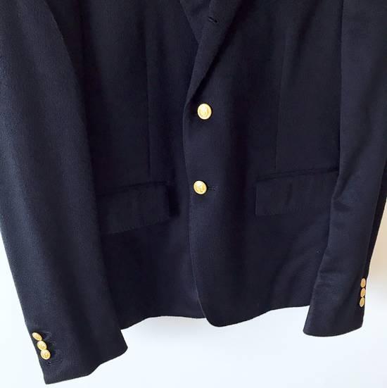 Thom Browne THOM BROWNE CLASSIC CASHMERE NAVY BLAZER JACKET Size 40S - 2