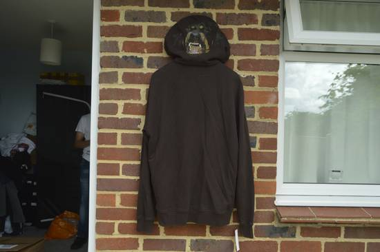 Givenchy Brown Rottweiler Print Hoodie Size US S / EU 44-46 / 1
