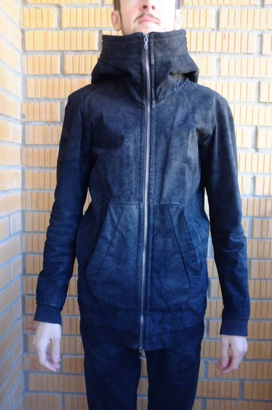 Julius Hooded leather jacket Size US S / EU 44-46 / 1 - 1