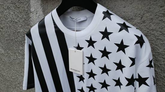 Givenchy Givenchy Stars and Stripes Rottweiler Shark Oversized T-shirt size S (L / XL) Size US S / EU 44-46 / 1 - 6