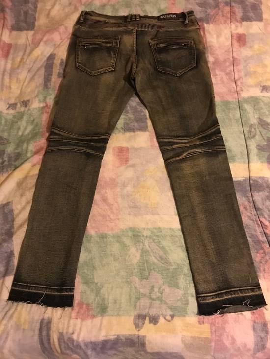 Balmain Balmain Biker Jeans Size US 33 - 1
