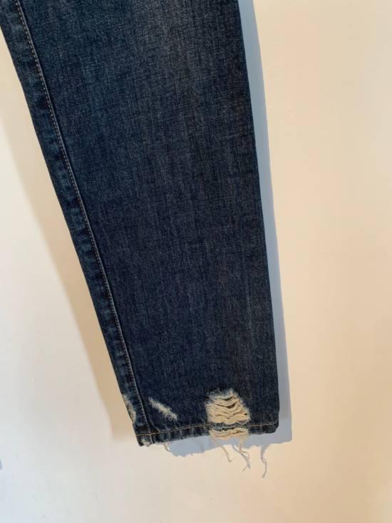 Balmain Balmain Washed Indigo Blue Biker Jeans Size US 32 / EU 48 - 5