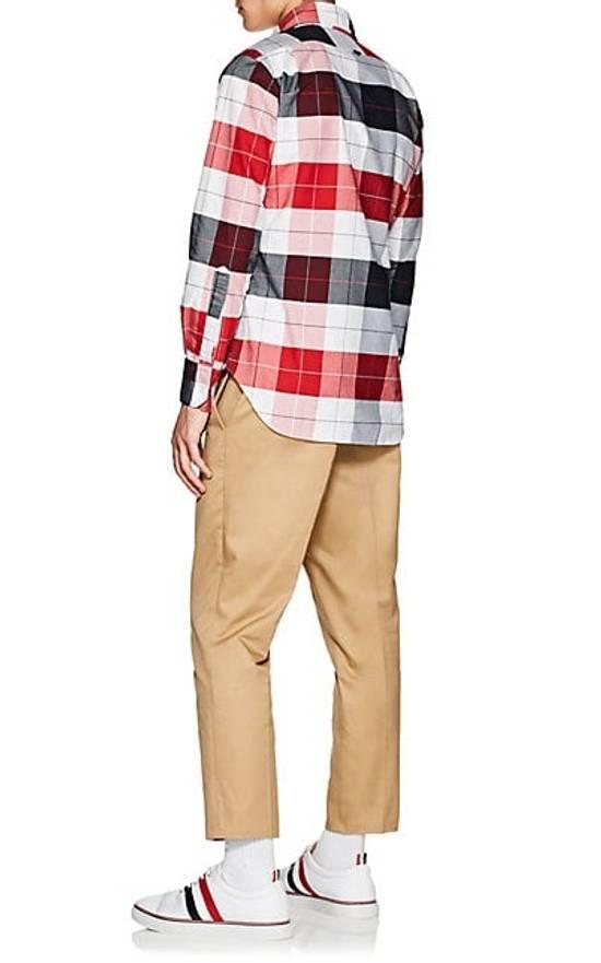 Thom Browne Buffalo-Checked Men's Oxford Shirt NEW Size US L / EU 52-54 / 3 - 3