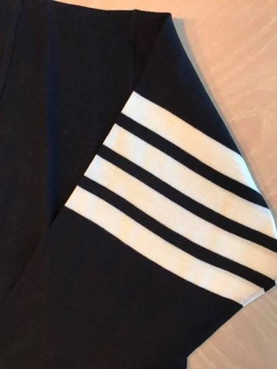 Thom Browne Navy Merino Wool Classic 4 Bar Cardigan Size US M / EU 48-50 / 2 - 5
