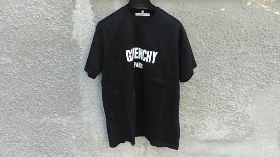 Givenchy Givenchy Black Destroyed Distressed Logo Oversized Shark T-shirt size M (XL) Size US M / EU 48-50 / 2