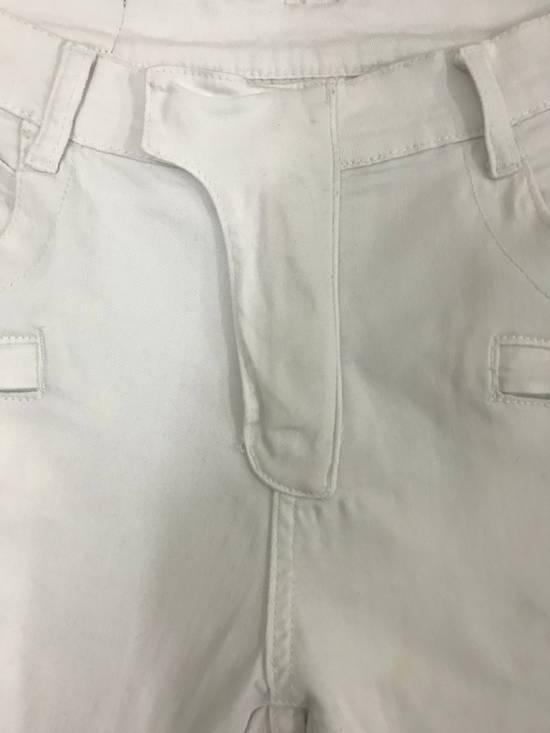 Balmain Balmain Biker All White Denim Jeans Size US 32 / EU 48 - 2