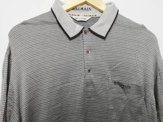 Balmain Pierre Balmain Paris Long Sleeves Golf Shirt Size US L / EU 52-54 / 3 - 1
