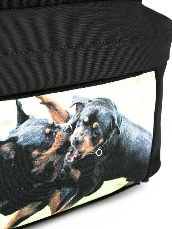 Givenchy rottweiler print backpack black Size ONE SIZE - 2