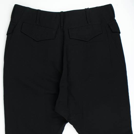 Julius 7 Black Cotton Blend Casual Trousers Pants Size 3/M Size US 34 / EU 50 - 4
