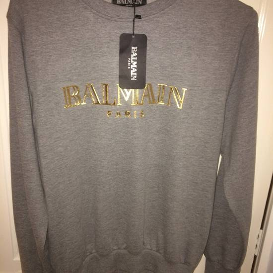 Balmain Balmain Grey Jumper Size M Size US M / EU 48-50 / 2
