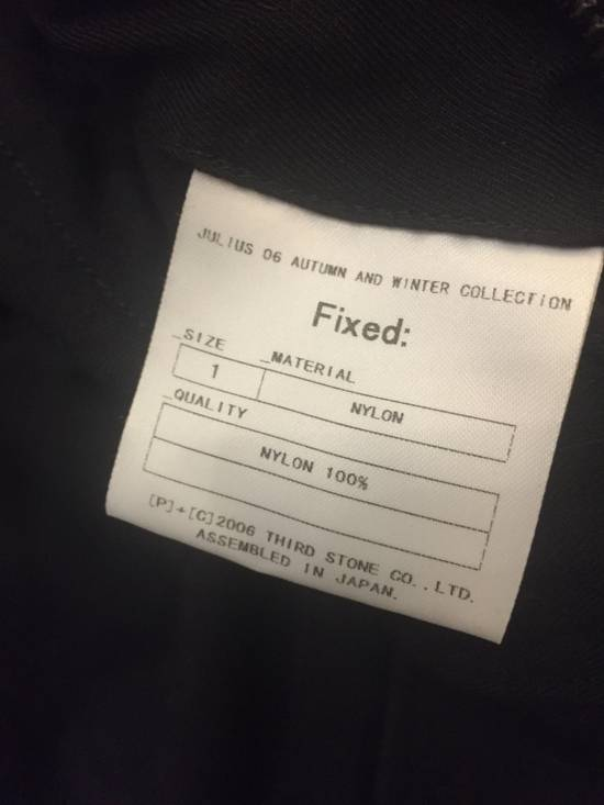Julius AW06 'Fixed' Distressed Nylon Jacket Size US XS / EU 42 / 0 - 7