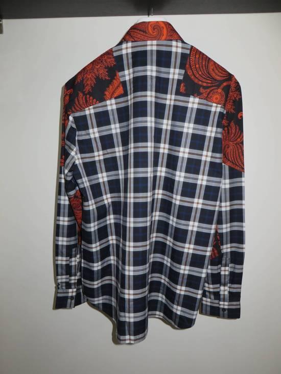 Givenchy Paisley-check print shirt Size US S / EU 44-46 / 1 - 7