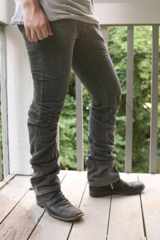 Julius FW07 Spiral Leg Corded Denim Size US 30 / EU 46 - 3