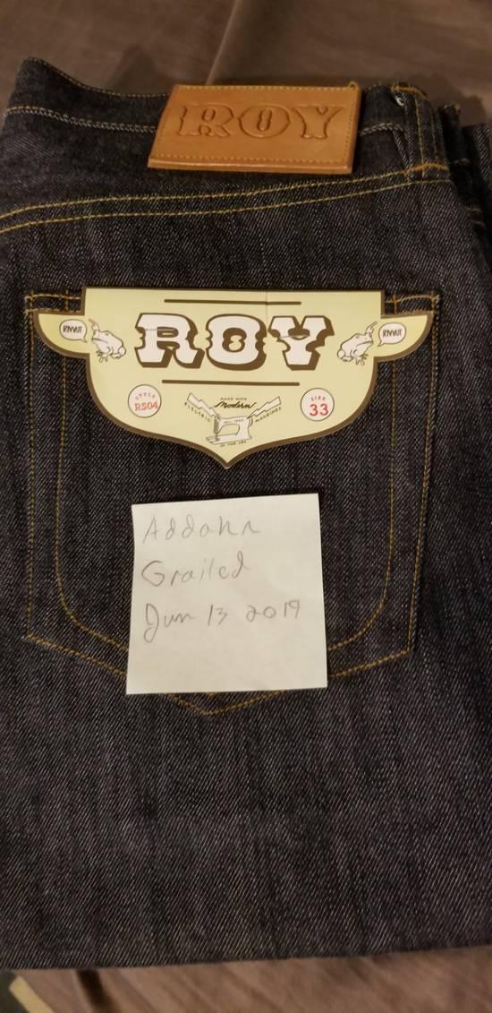 Roy Denim Roy Denim RS-04 33 Raw New Straight Jeans Size US 33 - 3