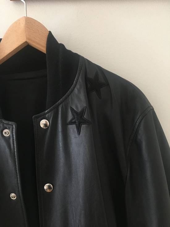 Givenchy Givenchy Leather Star Collar Bomber Jacket Size US M / EU 48-50 / 2 - 2