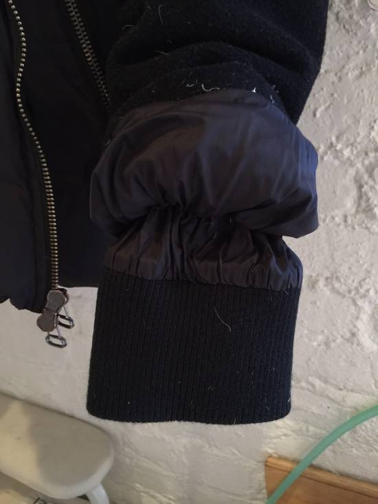 Balmain Hooded Down Wool/Nylon Coat Size US L / EU 52-54 / 3 - 5