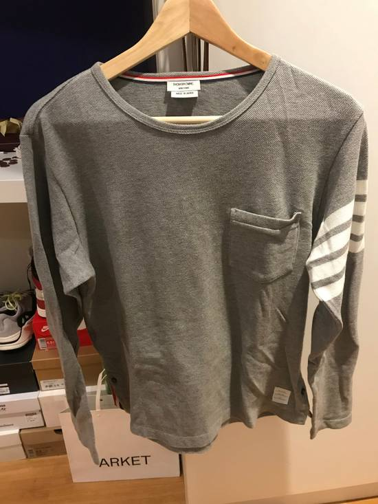 Thom Browne Thom Browne Long Sleeve Tee Shirt Size US S / EU 44-46 / 1