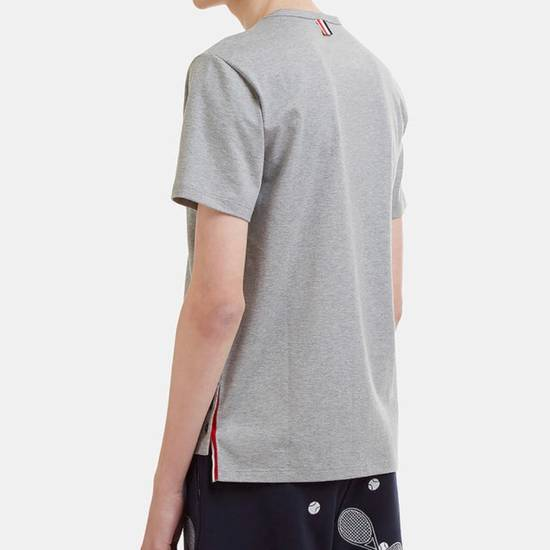Thom Browne Brand New Thom Browne Signature Tee In Grey Size US XS / EU 42 / 0 - 1