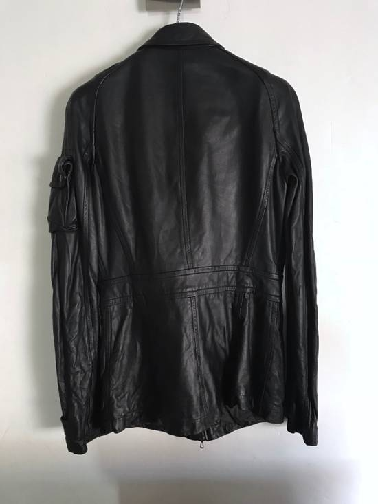 Julius LAST DROP! Julius GASMASK Leather Jacket Size US S / EU 44-46 / 1 - 2