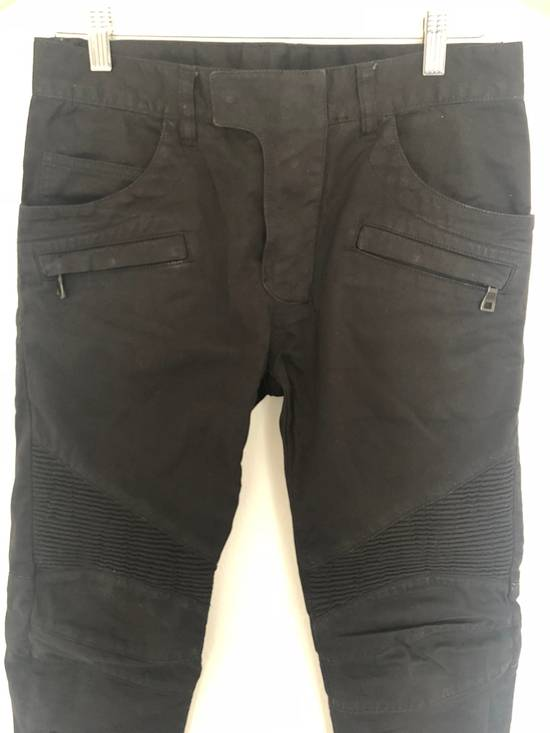 Balmain Balmain Twill Cotton Biker Denim Size US 29 - 5