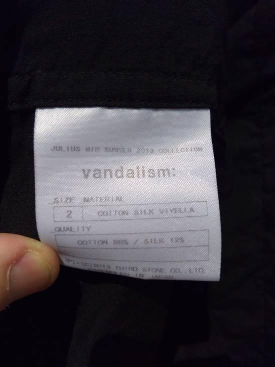 Julius Black Belted Asymmetric Shirt s/s13 Size US M / EU 48-50 / 2 - 6