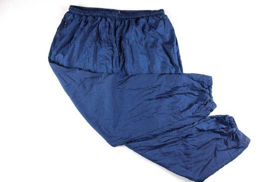 Givenchy Vintage 90s GIVENCHY Mens 3XL Casual Lined Nylon Joggers Jogger Pants Blue Size US 36 / EU 52
