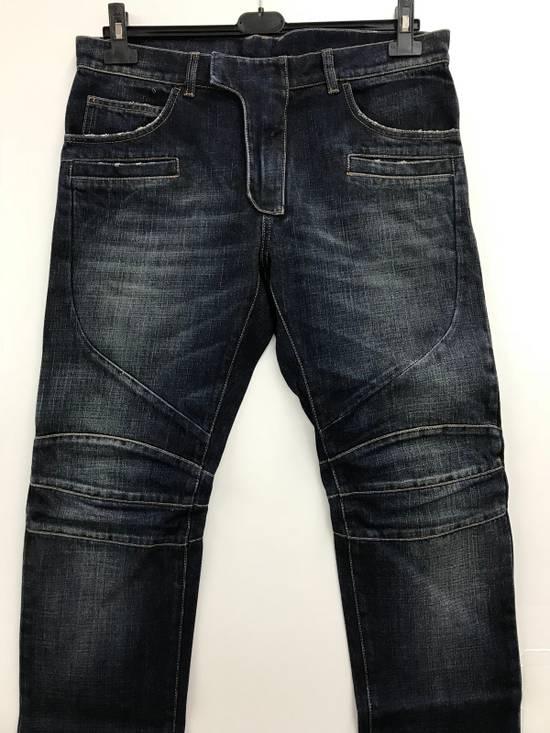 Balmain Balmain Biker Jeans Size 32 Model S6HT504D109V MADE IN ITALY Size US 32 / EU 48 - 1