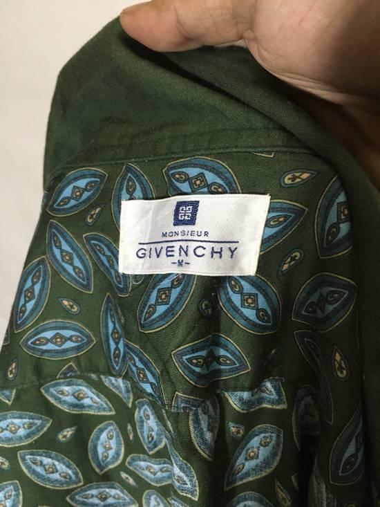 Givenchy Vintage GIVENCHY Monsieur Long Sleeve Button Up Shirt Paisley Design Size US L / EU 52-54 / 3 - 3
