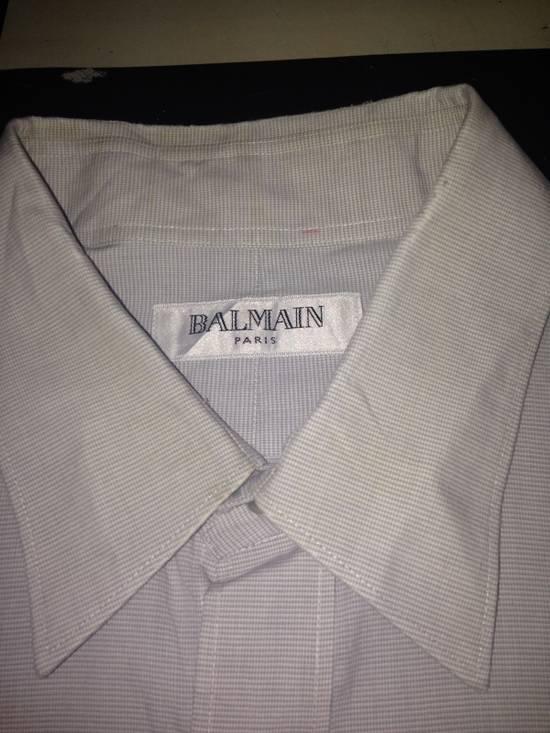 Balmain Balmain Paris Shirt ( Made In Japan ) Size US L / EU 52-54 / 3 - 1