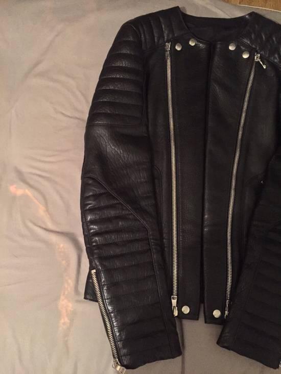 Balmain Leather Biker Jacket Lambskin Original SS12 Brand New Size US M / EU 48-50 / 2 - 10