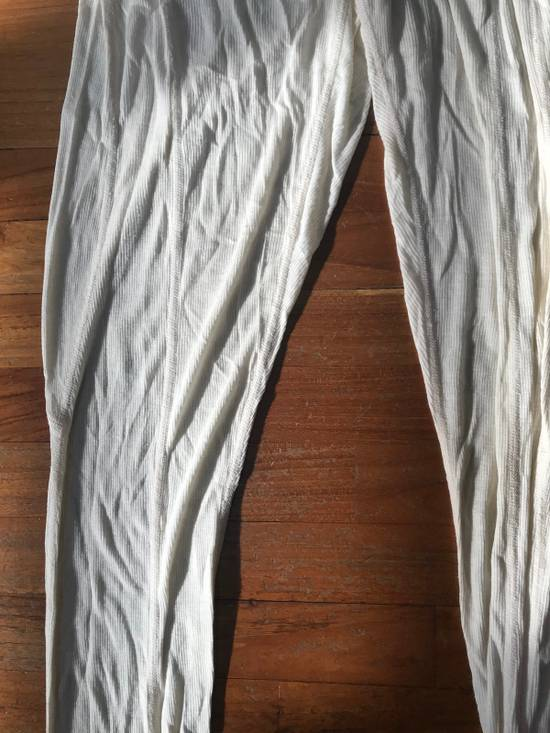 Julius SS10 cream rib leggings Size US 32 / EU 48 - 3